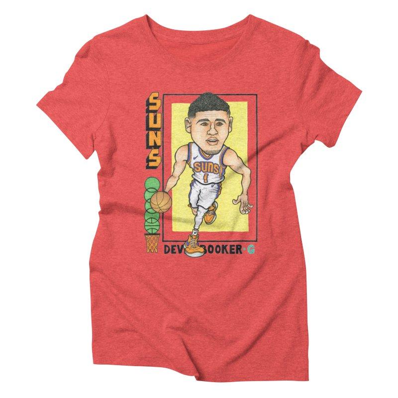 Book Women's Triblend T-Shirt by Adam Ballinger Artist Shop