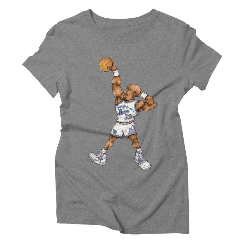 mailman Women's Triblend T-Shirt by Adam Ballinger Artist Shop