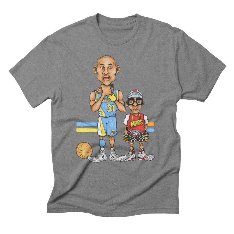 sad mars Men's Triblend T-Shirt by Adam Ballinger Artist Shop
