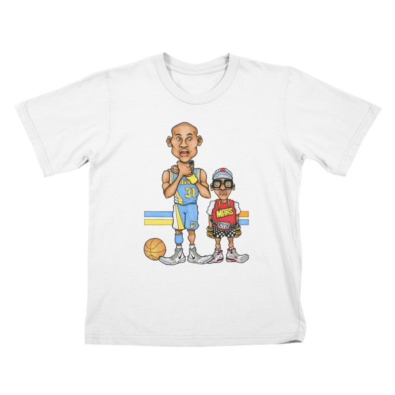 sad mars Kids T-Shirt by Adam Ballinger Artist Shop