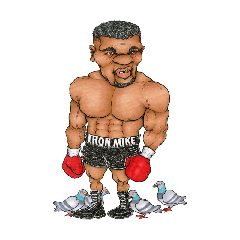IRON MIKE by Adam Ballinger Art