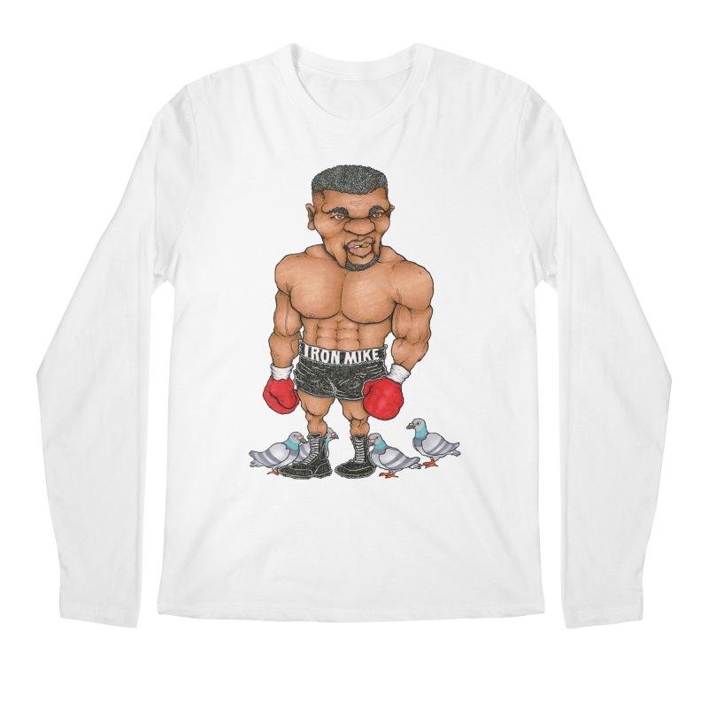 IRON MIKE Men's Longsleeve T-Shirt by Adam Ballinger Artist Shop