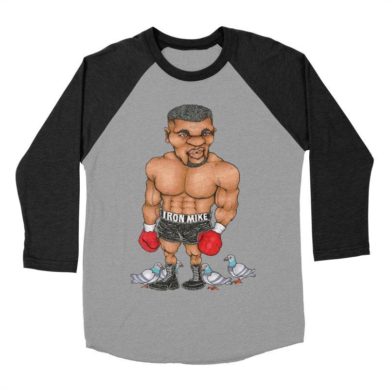 IRON MIKE Men's Baseball Triblend T-Shirt by Adam Ballinger Artist Shop