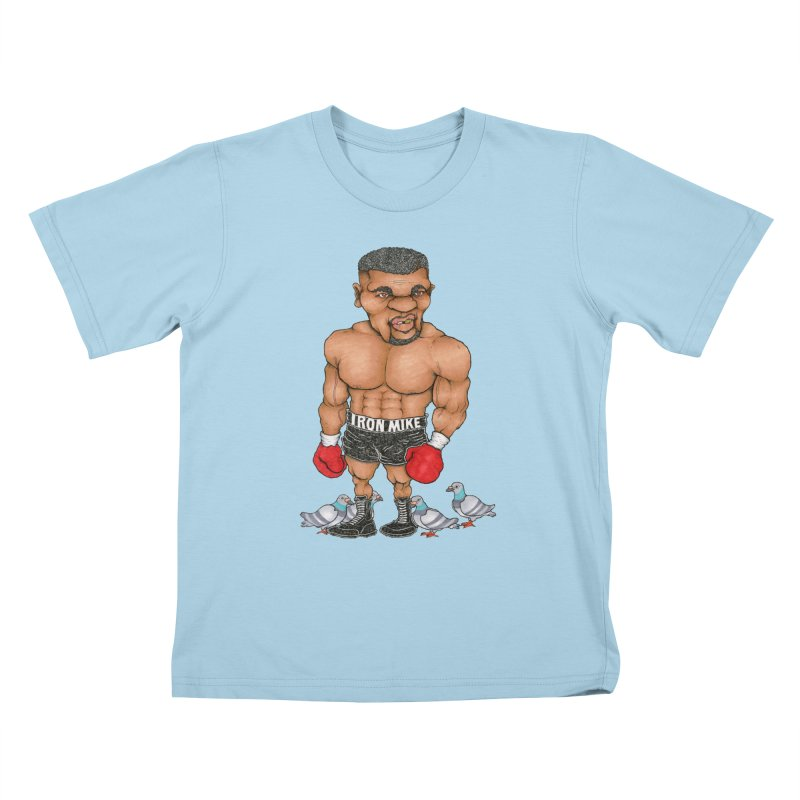 IRON MIKE Kids T-Shirt by Adam Ballinger Artist Shop