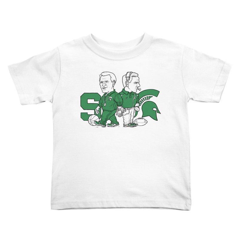 Spartans Kids Toddler T-Shirt by Adam Ballinger Artist Shop