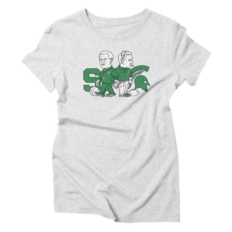 Spartans Women's Triblend T-Shirt by Adam Ballinger Artist Shop