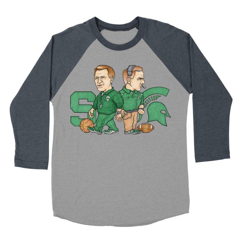 Spartanz Men's Baseball Triblend T-Shirt by Adam Ballinger Artist Shop