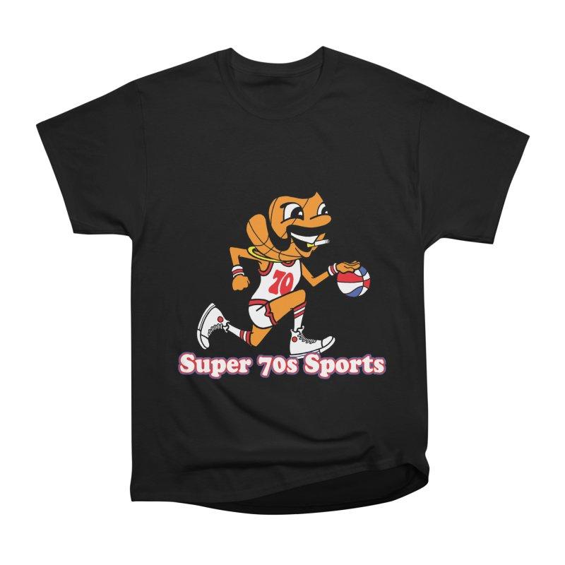 super basketball Men's Classic T-Shirt by Adam Ballinger Art