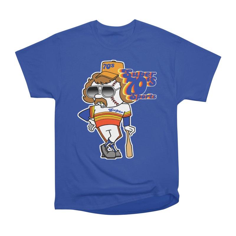 super baseball Men's Classic T-Shirt by Adam Ballinger Art
