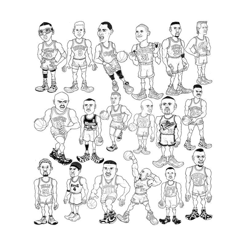 90's Forwards by Adam Ballinger Art
