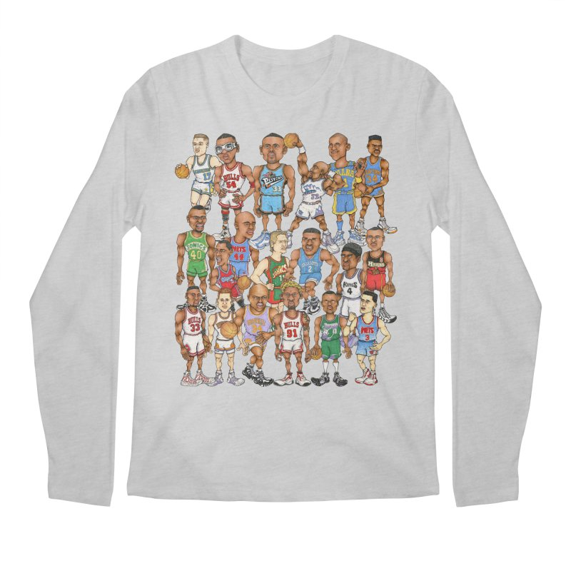90's FORWARDS Men's Longsleeve T-Shirt by Adam Ballinger Art