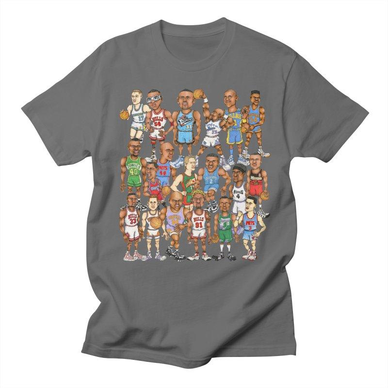 90's FORWARDS Women's Unisex T-Shirt by Adam Ballinger Art