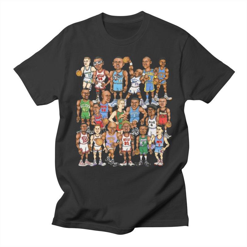 90's FORWARDS Men's T-Shirt by Adam Ballinger Art