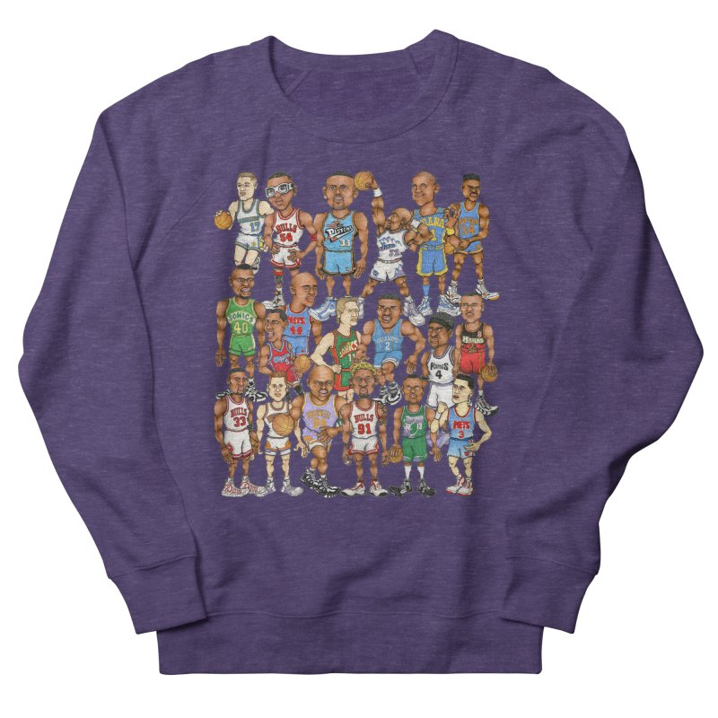 90's FORWARDS Women's Sweatshirt by Adam Ballinger Art