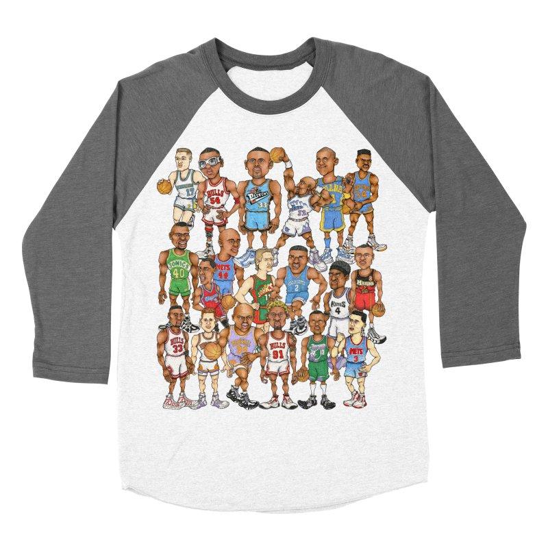 90's FORWARDS Women's Baseball Triblend T-Shirt by Adam Ballinger Art
