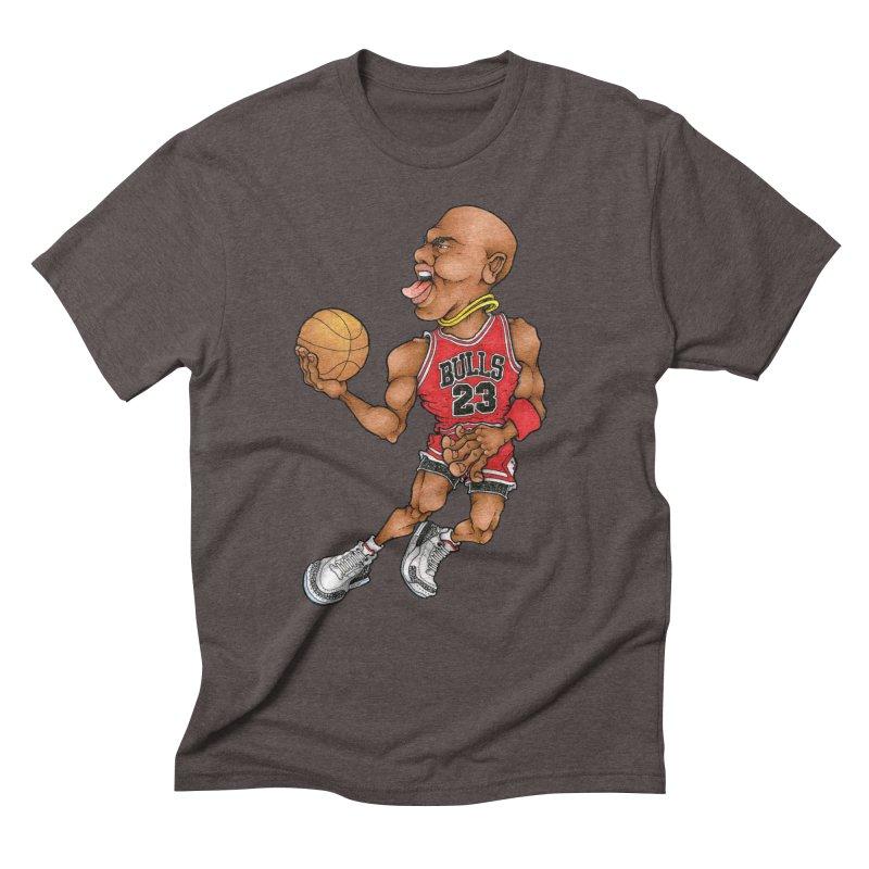 TWO CHAINS Men's Triblend T-Shirt by Adam Ballinger Art