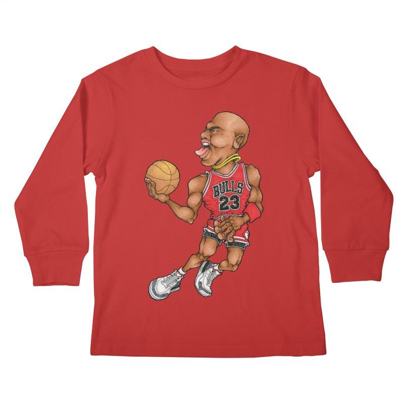 TWO CHAINS Kids Longsleeve T-Shirt by Adam Ballinger Art