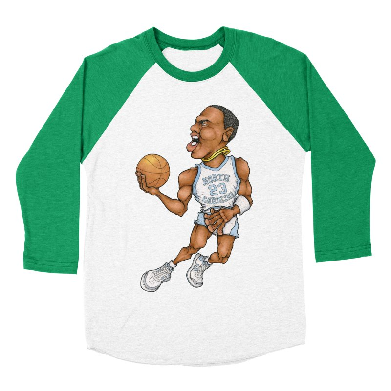 remix Men's Baseball Triblend T-Shirt by Adam Ballinger Art