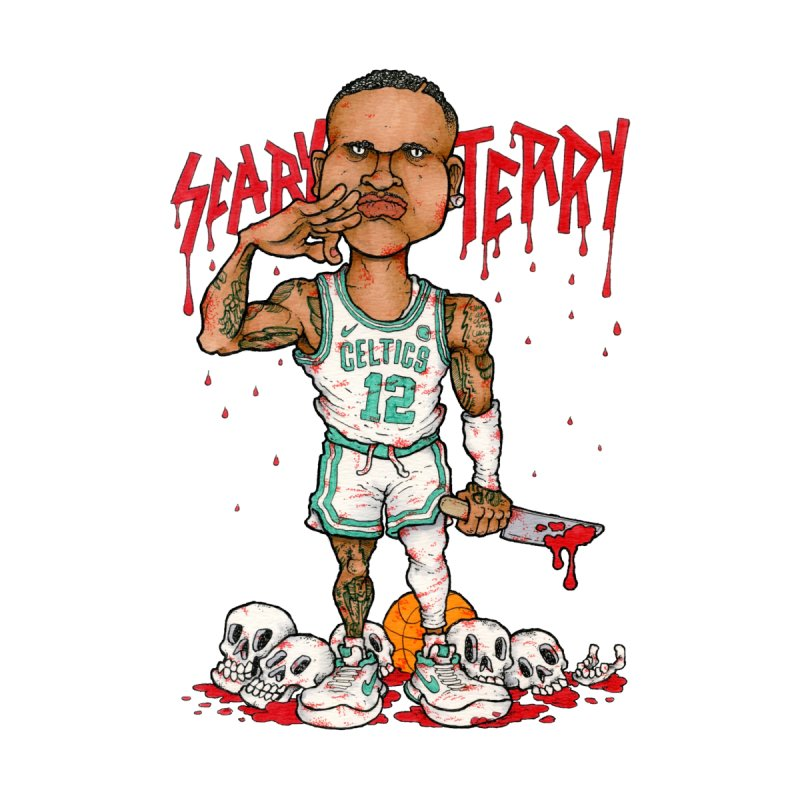 TERRY ROZIER III by Adam Ballinger Art