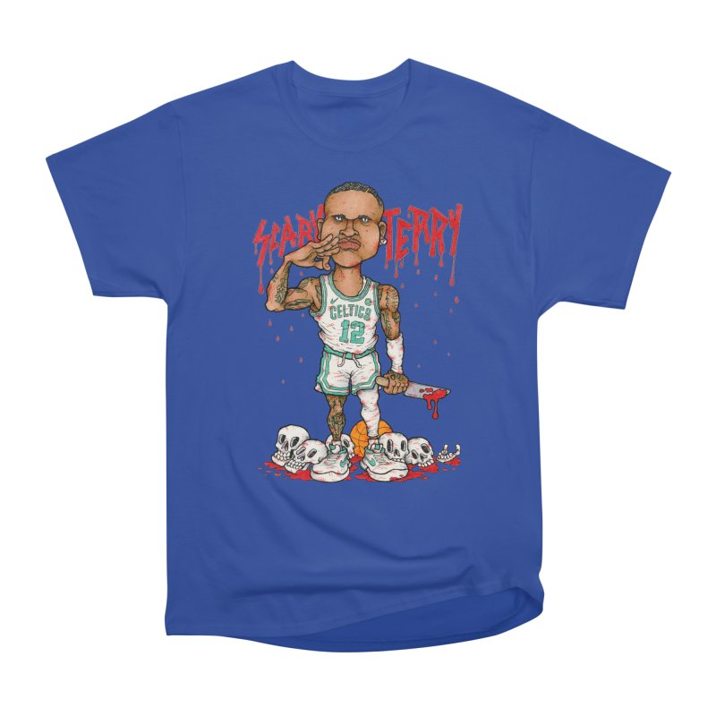 TERRY ROZIER III Men's Heavyweight T-Shirt by Adam Ballinger Art