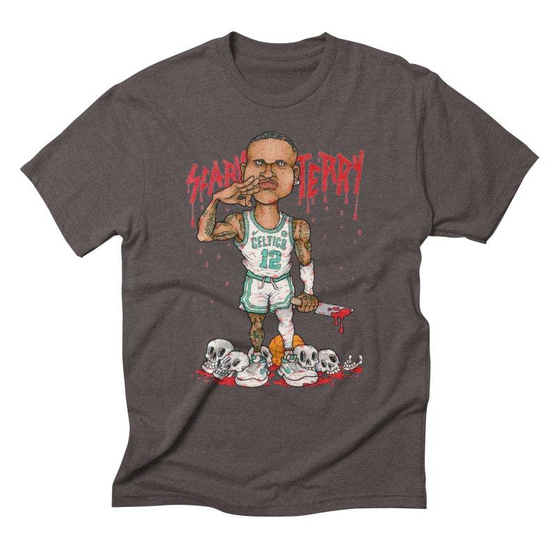TERRY ROZIER III Men's Triblend T-Shirt by Adam Ballinger Art