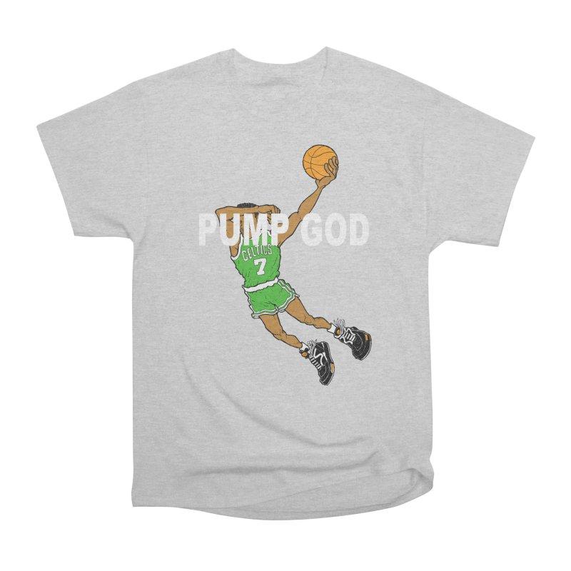 PUMP UP. AIR OUT. Men's Heavyweight T-Shirt by Adam Ballinger Art