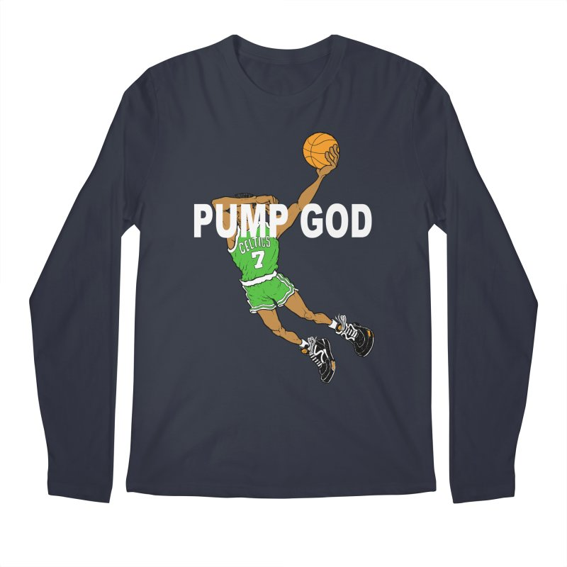 PUMP UP. AIR OUT. Men's Longsleeve T-Shirt by Adam Ballinger Art