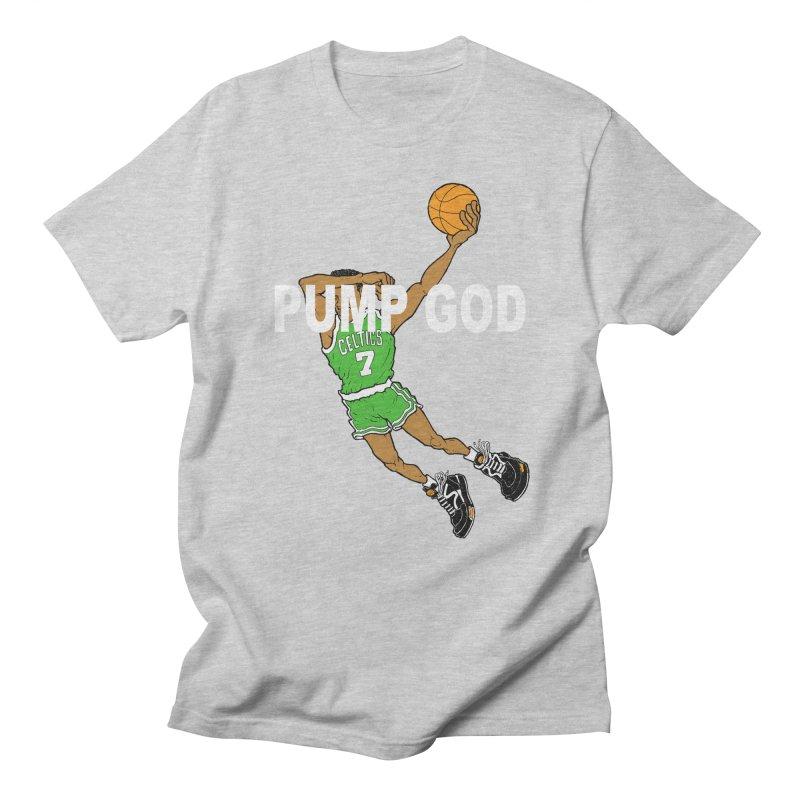 PUMP UP. AIR OUT. Men's T-Shirt by Adam Ballinger Art