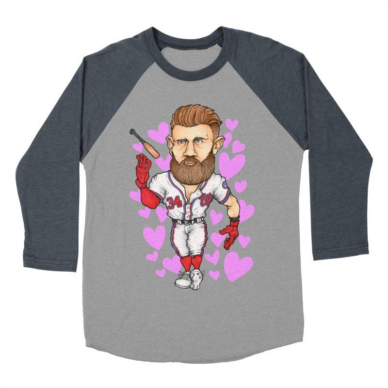 Bat Flippin' Sex Machine Women's Baseball Triblend T-Shirt by Adam Ballinger Art