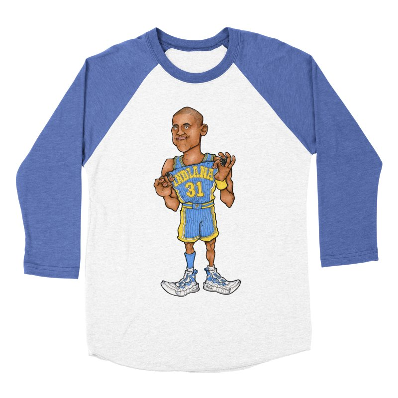 Reggie Men's Baseball Triblend T-Shirt by Adam Ballinger Art