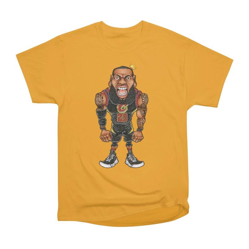 THE KING Men's Heavyweight T-Shirt by Adam Ballinger Art