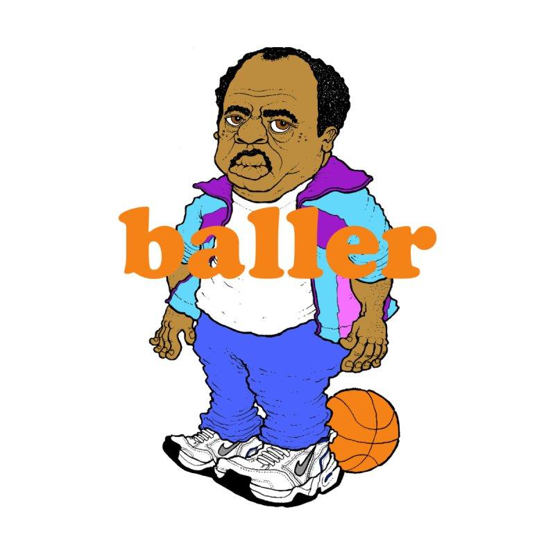 stanley hudson... baller by Adam Ballinger Art