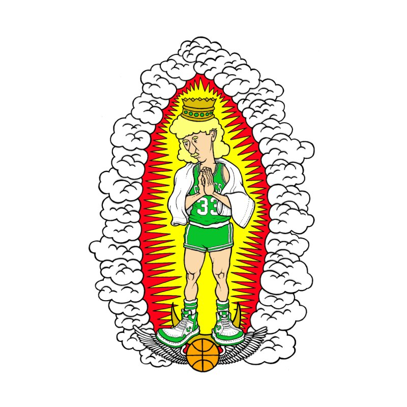 Our Larry of Guadalupe by Adam Ballinger Art