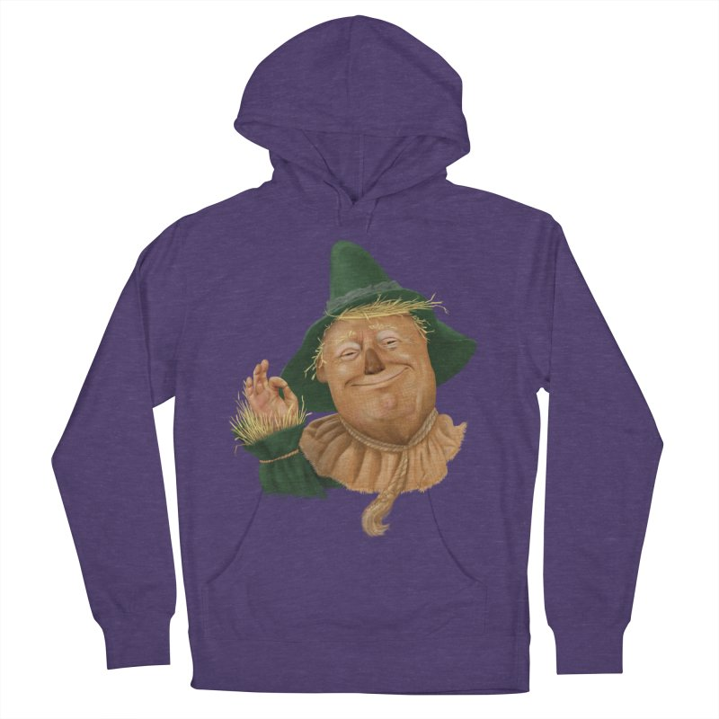 If I Only had a Brain Men's French Terry Pullover Hoody by Adam Celeban's Shop