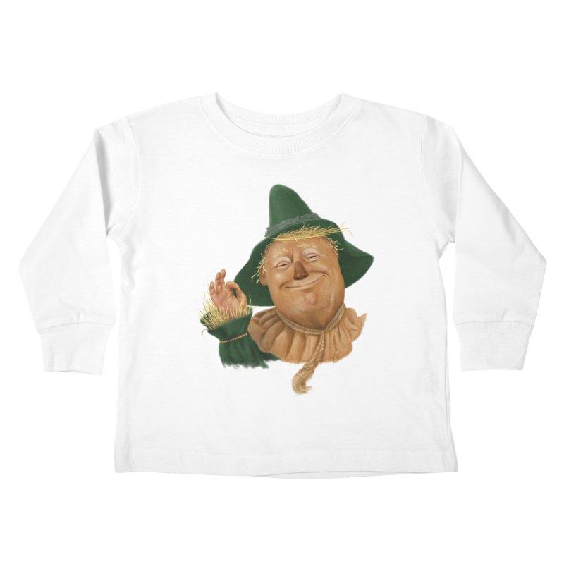 If I Only had a Brain Kids Toddler Longsleeve T-Shirt by Adam Celeban's Shop