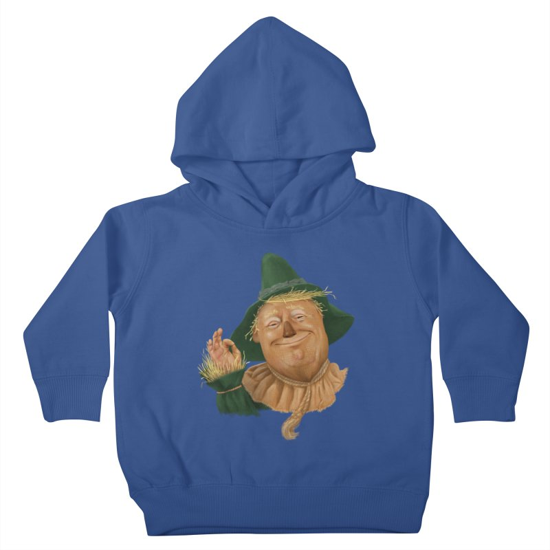 If I Only had a Brain Kids Toddler Pullover Hoody by Adam Celeban's Shop