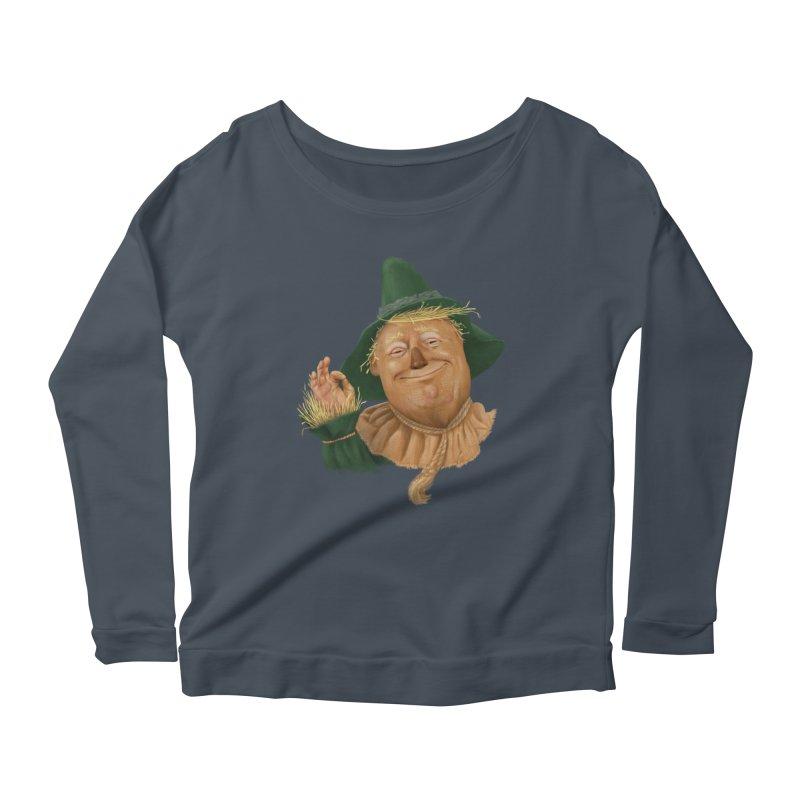 If I Only had a Brain Women's Scoop Neck Longsleeve T-Shirt by Adam Celeban's Shop