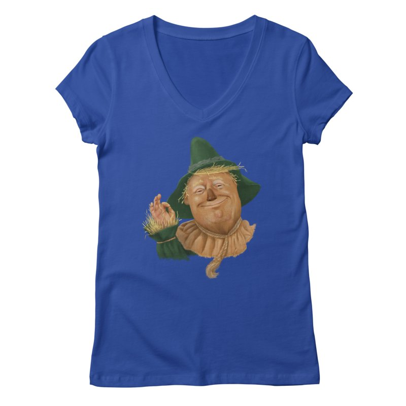 If I Only had a Brain Women's V-Neck by Adam Celeban's Shop