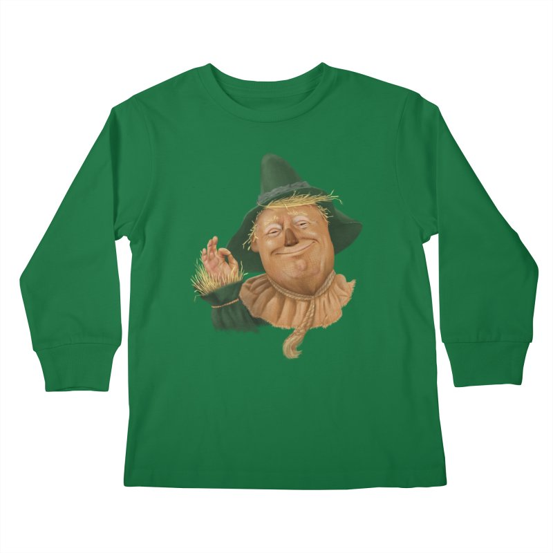 If I Only had a Brain Kids Longsleeve T-Shirt by Adam Celeban's Shop