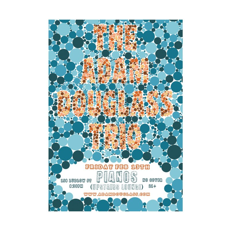 Adam Douglass Trio Color Blind Test Poster by Adam Douglass Shop