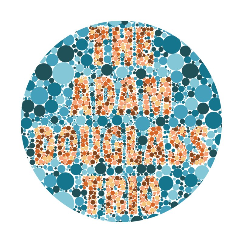 Colorblind Test Apparel by Adam Douglass Shop