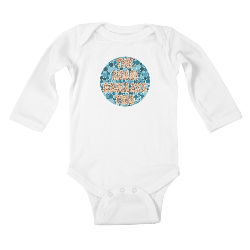 Colorblind Test Apparel Kids Baby Longsleeve Bodysuit by Adam Douglass Shop