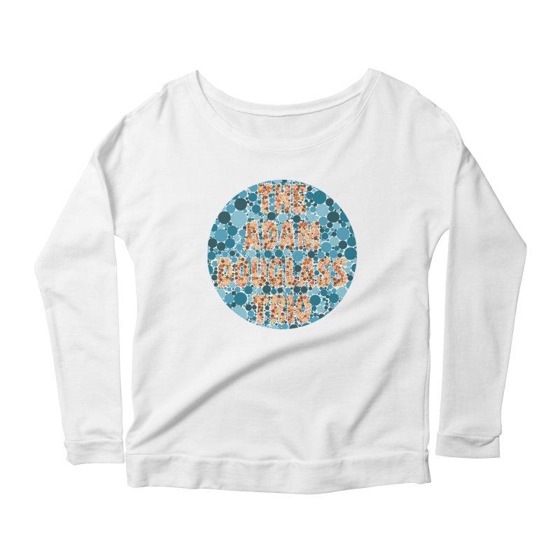 Colorblind Test Apparel Women's Scoop Neck Longsleeve T-Shirt by Adam Douglass Shop