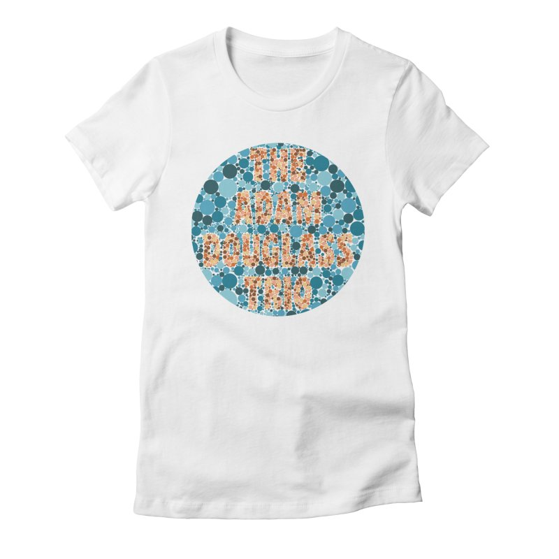 Colorblind Test Apparel Women's Fitted T-Shirt by Adam Douglass Shop