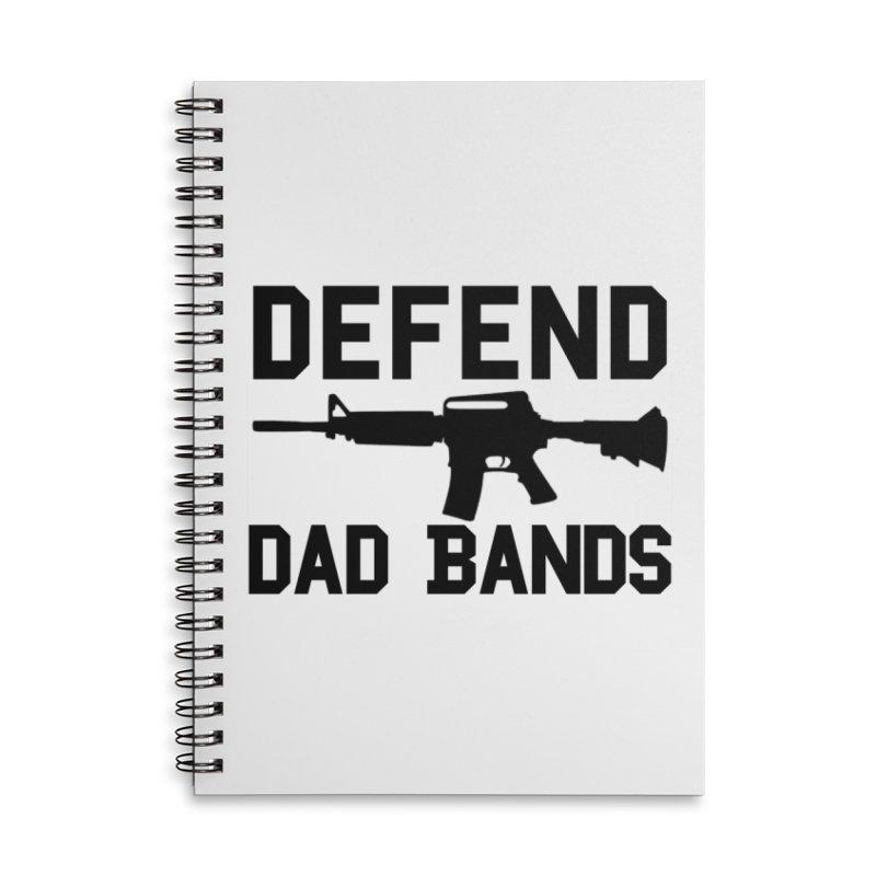 Defend Black Accessories Notebook by adamj's Artist Shop