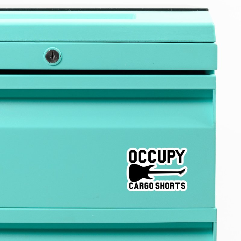 Occupy Cargo Shorts - Black Accessories Magnet by adamj's Artist Shop