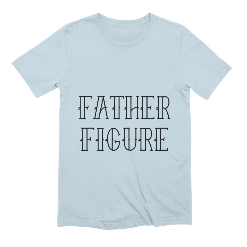 Father Figure Black Men's Extra Soft T-Shirt by adamj's Artist Shop