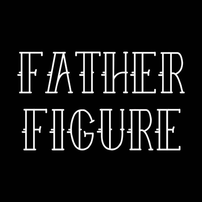 Father Figure White Home Framed Fine Art Print by adamj's Artist Shop