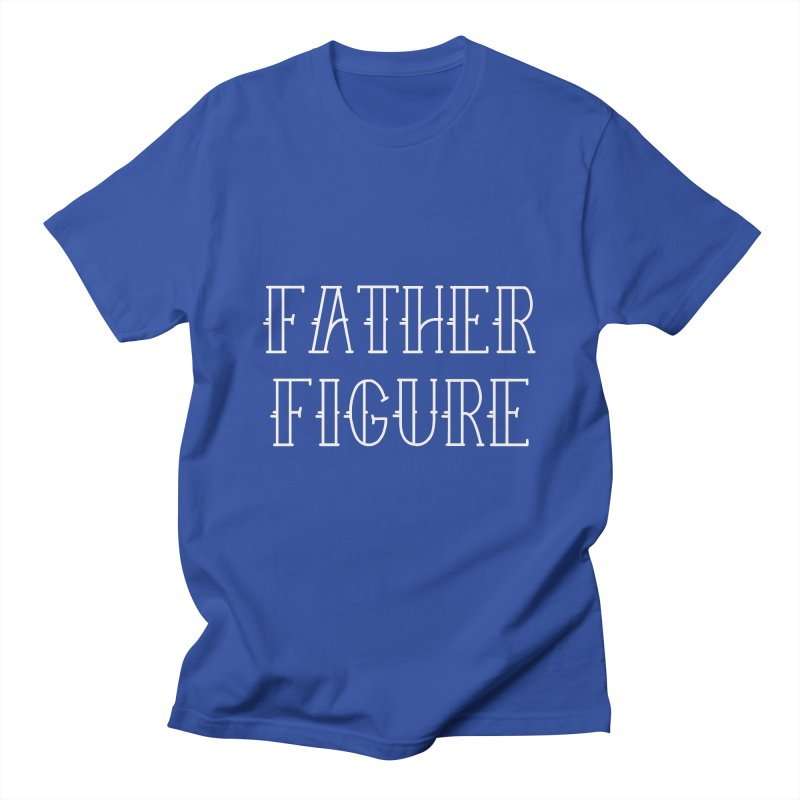 Father Figure White Men's Regular T-Shirt by adamj's Artist Shop
