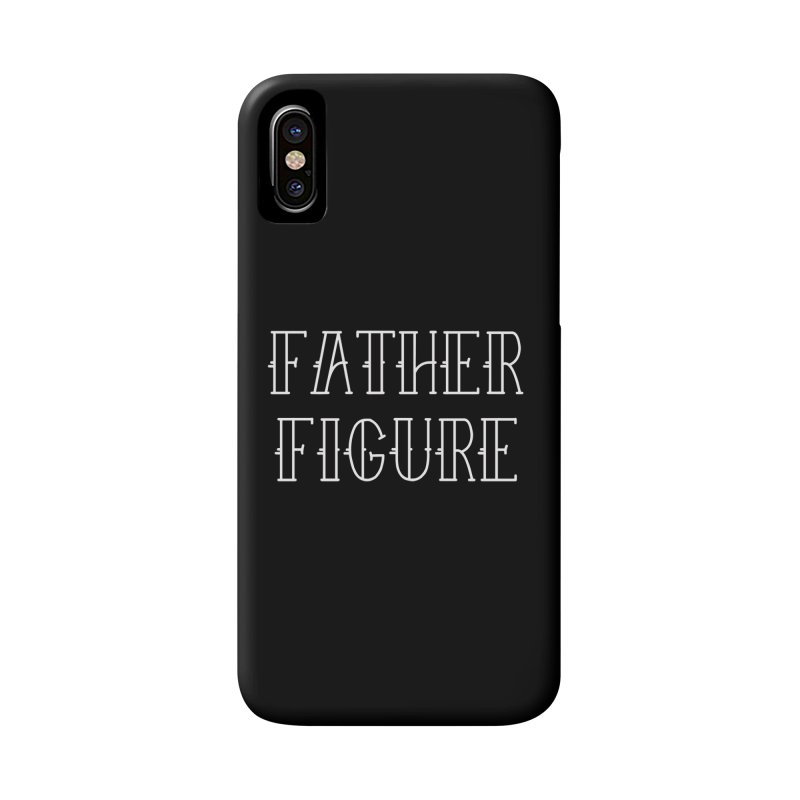 Father Figure White Accessories Phone Case by adamj's Artist Shop